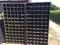Pigeon Hole Racking (vintage)