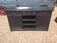 Side board well used still good condition few catches on it as shown in photos