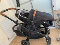 Egg double pram / pushchair / buggy with many extras