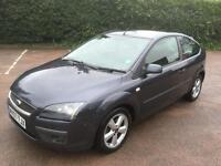 Ford Focus zetec climate 1.8 tdci, 2007, grey, manual, drives well, long mot & tax