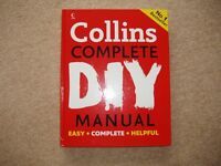 NEW! COLLINS COMPLETE DIY MANUAL