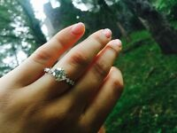 Diamond Engagement Ring Platinum - 2.73TCW - 1.7CT Centre- Colour H - Clarity SI1 - IGL Cert