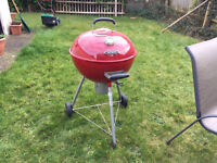 Red outback barbeque in excellent condition, used only once