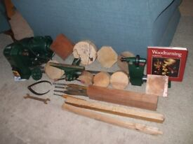 WOOD TURNING LATHE BY NU-TOOL