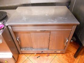 HEAVY DUTY QUALITY STAINLESS STEEL GAS HOT CUPBOARD FOR SALE WAS £1200 WAS £850 NOW £500