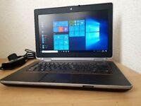 """Dell Intel Core i5-2520 Laptop,4GB RAM,500GB hdd,14"""" Led Display,Windows 10 Pro 64 Bit"""