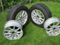 vw t4,bmw alloy wheels to fit vw t4.