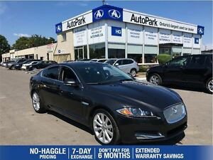 2013 Jaguar XF Supercharged V6 AWD S| Nav| Rearview Camera| Sunr