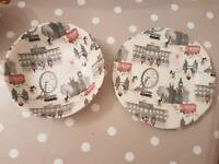 Cath kidston plate and bowl