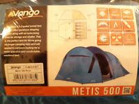 Vango 500 Metis - 5 person tent (NEW)