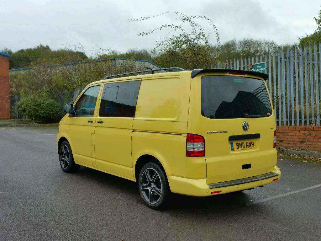 vw transporter kombi 140tdi swb no vat van now sold