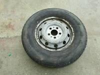 Citroen relay van spare wheel 215/75/16