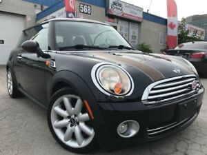 2010 MINI Cooper Leather_Sunroof_Bluetooth