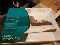 Logitech cooling pad n120 in box