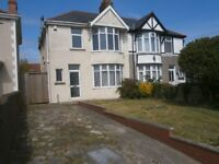 three bedroom semi detached house for rent, west road ,nottage porthcawl
