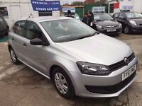 2011 VW POLO S 60 1.2 PETROL, 47,950 MILES, HPI CLEAR, 2 KEYS, FINANCE: £127 X 48 MONTHS