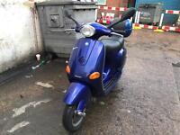 Piaggio Vespa Et4 blue 125cc low mileage !!!