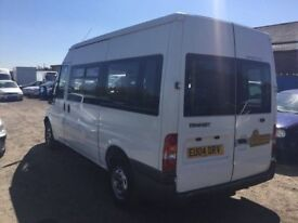 2004 FORD TRANSIT 85 T300 MINIBUS WITH DISABLE RAMP AIR CONDITIONING IN VG CONDITION DRIVES SUPERB