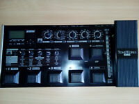 Korg AX3000G - Guitar Multi-Effects & Amp Modelling Pedal - Studio / Home / Gig / Pro