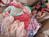 Baby girls bundle 9 - 12