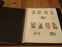Stamp Collection Item 2 Album -Various 1940's/2000's stamps/sets
