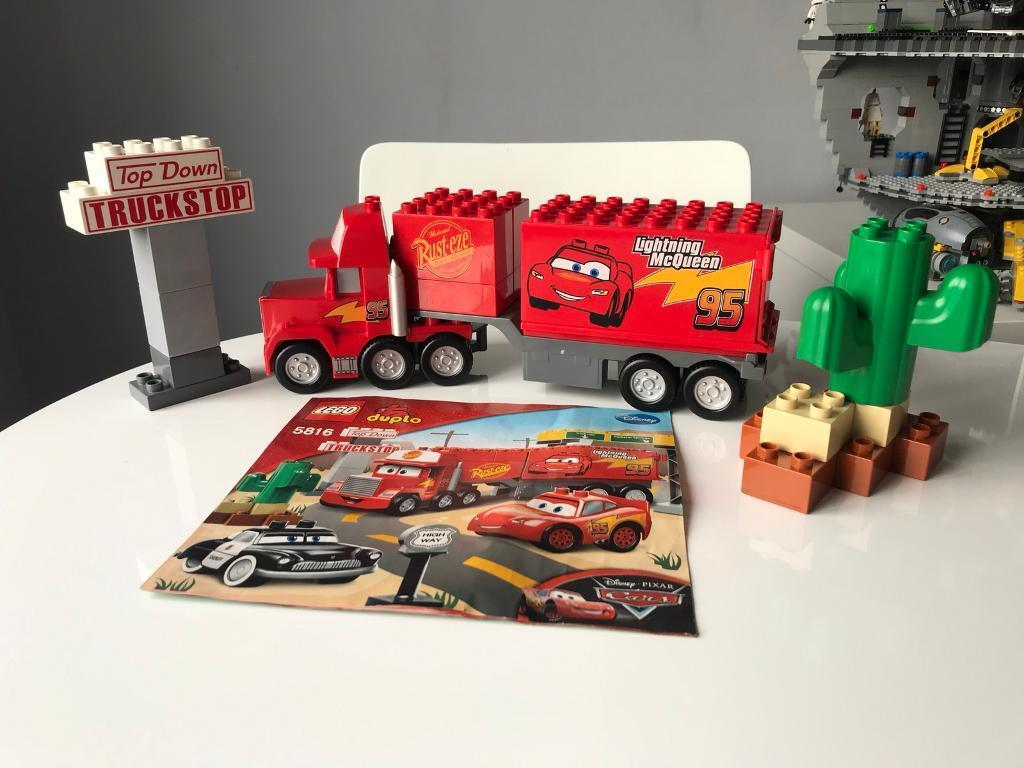 Lego Duplo Disney Cars 5816 Macks Road Trip Instructions Included