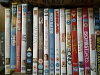 40 DVDs