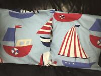 Seaside Nautical Cushion + Covers