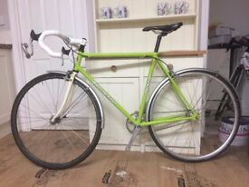 Bob Jackson Vigorelli Single Speed - Reynolds 631 frame - 54cm - ** ONLY 33 MILES FROM NEW **
