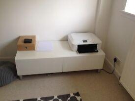 IKEA Besta Storage Unit with drawers.