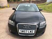AUDI A3 2.0 TDI SPORT 3d AUTO 168 BHP TIMING BELT CHANGED+SERVICE RECORD 1 PREVIOUS KEEPER +