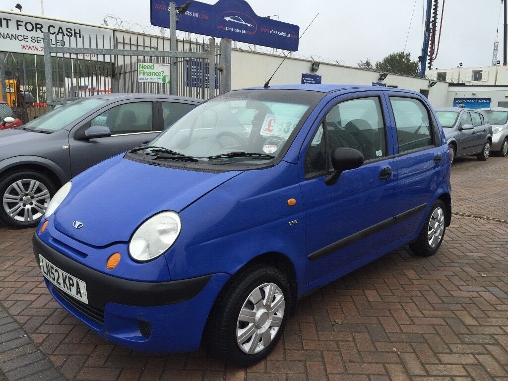 2002 DAEWOO MATIZ 800cc SMART FAMILY CAR IDEAL RUNNER LOW INSURANCE
