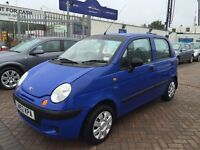 2002 DAEWOO MATIZ 800cc SMART FAMILY CAR IDEAL RUNNER LOW INSURANCE AND GREAT FUEL ECONOMY