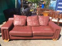 Free! Leather sofa