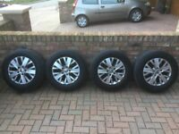 T5 Alloy Wheels and Tyres