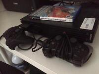 Ps2 + controllers + NfS underground