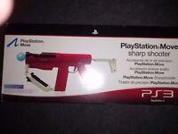 Playstation Move Official Sharpshooter gun controller