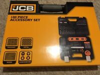 JCB 100 PIECE TOOL SET - NEW