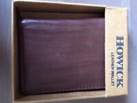 Howick leather wallet