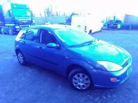 Ford Focus 1.8 Petrol breaking all parts available