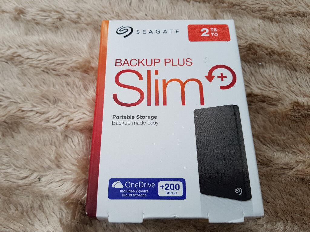 New Seagate 2 tb Portable HD