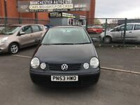 Volkswagen Polo 1.2 S 5dr (a/c) WARRANTED MILEAGE,