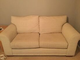 NEXT 2seater sofa hardly used . New costs £600, now only £250.