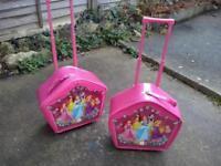 Princess suitcases