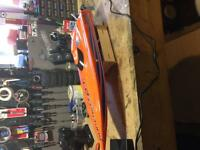 Aquacraft supervee 27 brushless boat