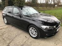 BMW 3 SERIES 2.0 320D EFFICIENTDYNAMICS BUSINESS TOURING 5d 161 BHP (black) 2013