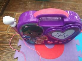 Disney Doc McStuffins Sing-Along Boombox: