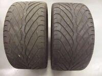 2 OFF BRIDGESTONE S-02 Tyres 265/35 ZR 18 WITH 4-5MM OF TREAD