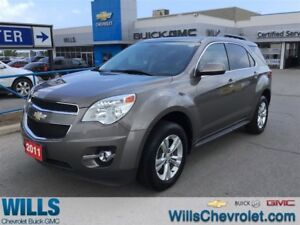 2011 Chevrolet Equinox 2LT | SUNROOF | HEATED SEATS