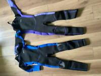Mountain Warehouse full length wetsuits age 11-12